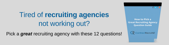 Recruiting agencies not working?